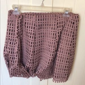 Jolt mini skirt
